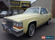 1982 Cadillac DeVille Base Coupe 2-Door for Sale