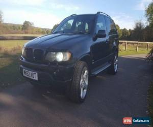 Classic 2002 BMW X5 D SPORT AUTO BLACK for Sale