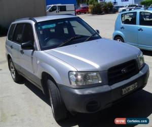 Classic SUBARU FORESTER 01/2003 AUTOMATIC AIR AND STEER WITH FEBRUARY REGO CHEAP for Sale