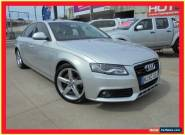 2009 Audi A4 B8 8K Silver Automatic A Sedan for Sale