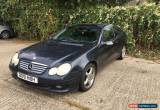 Classic Mercedes C230 2002 sports coupe spares or repair for Sale