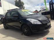 2013 Suzuki Swift FZ MY13 GA Black Automatic 4sp A Hatchback for Sale