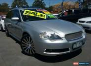 2006 Subaru Liberty MY06 3.0R-B Silver Manual 6sp M Wagon for Sale