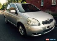 2005 TOYOTA YARIS COLOUR COLLECTION SILVER: 1.3- Great Little Car 10 Months MOT  for Sale