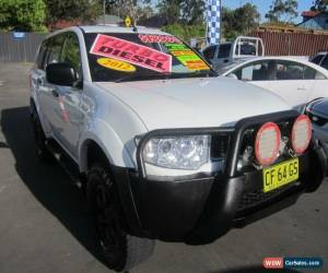 Classic 2011 Mitsubishi Challenger PB MY12 (4x4) White Automatic 5sp A Wagon for Sale