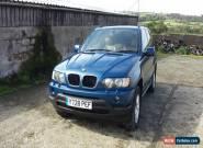 2001 BMW X5 SPORT AUTO BLUE, Privacy tint , automatic 4x4 3.0i for Sale