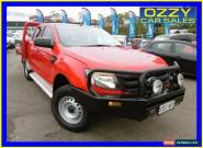 2012 Ford Ranger PX XL 3.2 (4x4) Red Manual 6sp M Dual Cab Chassis for Sale