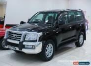 2007 Toyota Landcruiser VDJ200R Sahara (4x4) Black Automatic 6sp A Wagon for Sale