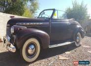 1940 Chevrolet Other Convertible for Sale