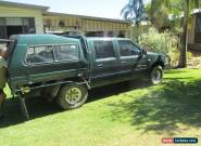 RODEO  2001 DUAL CAB UTE for Sale