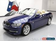 2013 BMW 3-Series Base Convertible 2-Door for Sale