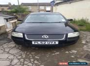 VOLKSWAGEN PASSAT S 20V 2002 BLACK SPARES OR REPAIR for Sale