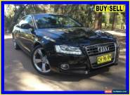 2010 Audi A5 8T 2.0 TFSI Quattro Black Automatic 7sp A Coupe for Sale