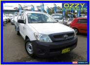 2009 Toyota Hilux TGN16R 09 Upgrade Workmate Glacier White Manual 5sp M for Sale