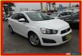 Classic 2012 Holden Barina TM White Automatic 6sp A Sedan for Sale