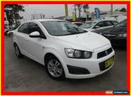 2012 Holden Barina TM White Automatic 6sp A Sedan for Sale