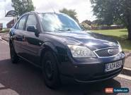 2004 FORD MONDEO LX 2.0 TDCI AUTO PANTHER BLACK for Sale