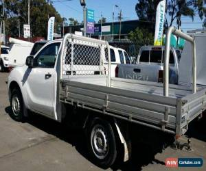 Classic 2012 Mazda BT-50 XT (4x2) White Manual 6sp M Cab Chassis for Sale