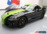 2010 Dodge Viper SRT-10 Coupe 2-Door for Sale