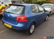 vw golf  tdi 2005 spares or repairs for Sale