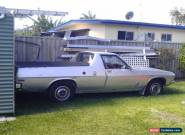 Holden 1972 HQ Kingswood Ute for Sale
