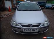 55 PLATE 2005 VAUXHALL CORSA LIFE TWINPORT IN SILVER 5 DOOR NEEDS ATTENTION  for Sale