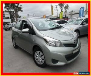 Classic 2011 Toyota Yaris NCP130R YR Green Automatic 4sp A Hatchback for Sale