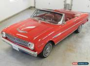 1963 Ford Falcon Sprint Convertible for Sale