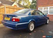 BMW E39 2002(51) 525i SE 88k X4 NEW TYRES 12MOT FSH 2 OWNERS for Sale