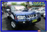 Classic 2008 Nissan Navara D22 ST-R (4x4) Blue Manual 5sp M Dual Cab Pick-up for Sale