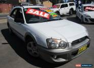 2004 Subaru Impreza MY04 RV (AWD) White Manual 5sp M Hatchback for Sale