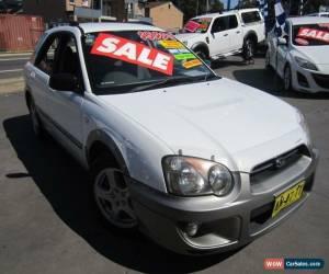 Classic 2004 Subaru Impreza MY04 RV (AWD) White Manual 5sp M Hatchback for Sale