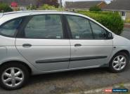 Renault Megane Scenic Sport Alize W reg in silver 1.6 petrol MOT till December  for Sale