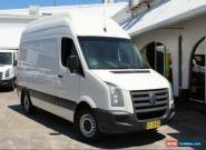 2008 Volkswagen Crafter MWB 100 Tdi SUPER HIGH ROOF White Manual 6sp M Van for Sale