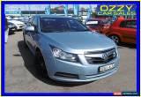 Classic 2010 Holden Cruze JG CD Blue Manual 5sp M Sedan for Sale