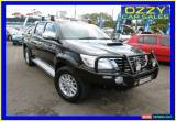 Classic 2012 Toyota Hilux KUN26R MY12 SR5 (4x4) Black Automatic 4sp A Dual Cab Pick-up for Sale