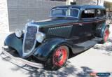 Classic 1934 Ford Chopped Tudor Chopped Sedan for Sale