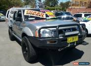 2003 Nissan Navara D22 ST-R (4x4) Silver Manual 5sp M Dual Cab Pick-up for Sale