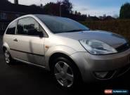 Ford Fiesta 1.4 Zetec in metallic silver for Sale