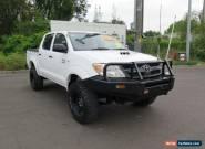 2008 Toyota Hilux KUN26R MY08 SR White Manual 5sp M 4D UTILITY for Sale