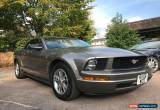 Classic 2005 FORD MUSTANG 4.0 V6 CONVERTIBLE FULL SERVICE HISTORY 1 OWNER WINTER BARGAIN for Sale