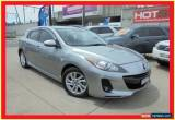 Classic 2013 Mazda 3 BL10F2 MY13 Maxx Sport Silver Automatic 5sp A Hatchback for Sale