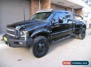 2006 Ford F350 RN XL (4x4) Black Automatic 4sp A Super Cab Chassis for Sale