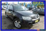 Classic 2008 Suzuki Grand Vitara JT MY08 Upgrade (4x4) Black Manual 5sp M Wagon for Sale