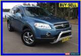 Classic 2008 Holden Captiva CG MY08 LX (4x4) Blue Automatic 5sp A Wagon for Sale