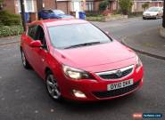 2010 VAUXHALL ASTRA 2.0 SRI CDTI 157 RED  for Sale