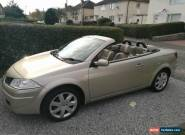 Renault Megane Convertible Privileg 1.9dci 2008 for Sale