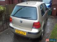 2002 VOLKSWAGEN GOLF 1.4 - Spares Repair for Sale