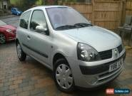 2001 RENAULT CLIO EXPRESSION+ 16V SILVER 1 OWNER, ONLY 29,000 MILES!! for Sale
