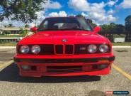 1991 BMW 3-Series Base Convertible 2-Door for Sale